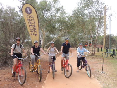 Telegraph Station Outback Cycling Townie