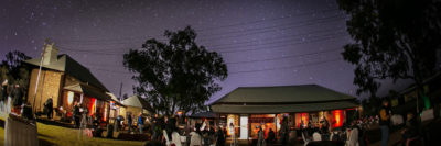 Functions big or small - total flexibility in your event planning at the Alice Springs Telegraph Station