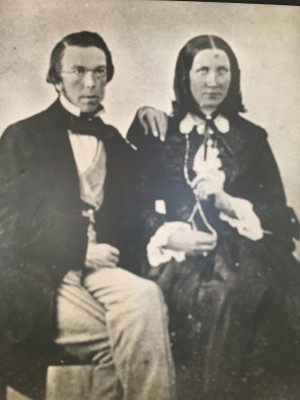 Sir Charles and Mrs Alice Todd