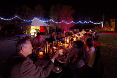Ambient and intimate dinner parties at the Alice Springs Telegraph Station make special occasions ever more memorable